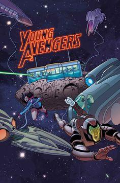 Jamie McKelvie - Young Avengers #7