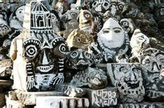 Ni Tanjung Art Brut, Outsider Art, Tribal Art, Naive, The Outsiders, Ethnic, Mixed Media, Folk, Masks