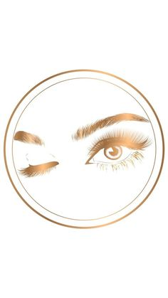 Ideas For Beauty Makeup Logo Products Beauty Lash, Beauty Makeup, Lash Quotes, Eyelash Logo, Makeup Artist Logo, Lash Room, Lashes Logo, Gold Highlights, Instagram Logo