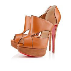 Love this from Christian Louboutin:   PITOU 150 mm  Leather   Fauve   Women Shoes