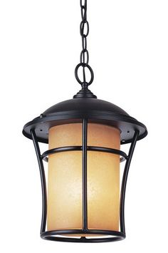 Trans Globe Lighting PL-5252 WB Weathered Bronze Outdoor Hanging Light by Bel Air Lighting. $160.20. From the Manufacturer                Bel Air Lighting, Energy Efficient Outdoor Lighting with Fluorescent Bulb                                    Product Description                Single light outdoor energy efficient medium pendant featuring amber glassRequires 1 24w GU24 Bulb (Not Included)