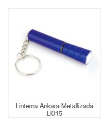 Linterna Ankara Metalizada Ll015