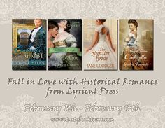 #giveaway Fall In Love with Historical Romance from Lyrical Press - http://www.fictionzeal.com/fall-love-historical-romance-lyrical-press/