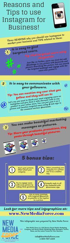 Razones y consejos para usar Instagram en tu empresa