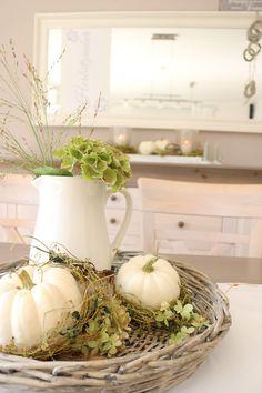 Autumn table decorations – Famous Last Words
