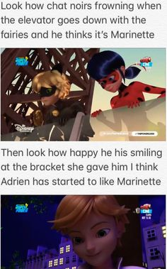 Lol 😂 they are just really good at hiding emotions well Adrien is, Marinette not so much. Miraculous Ladybug Fanfiction, Miraculous Ladybug Fan Art, Meraculous Ladybug, Ladybug Comics, Mlb, Lady Bug, Catty Noir, When Things Go Wrong, Kids Shows