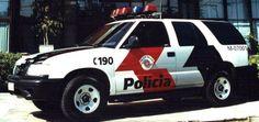 Blazer. São Paulo Police car. (currently used)
