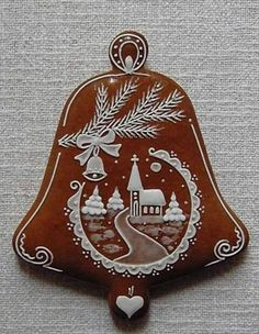 Today we are looking at Moravian and Bohemian gingerbread designs from the Czech Republic. Back home, gingerbread is eaten year round and beautifully decorated cookies are given on all occasions. Xmas Cookies, Iced Cookies, Fun Cookies, Cupcake Cookies, Gingerbread Cookies, Christmas Gingerbread House, Christmas Sweets, Christmas Goodies, Christmas Baking