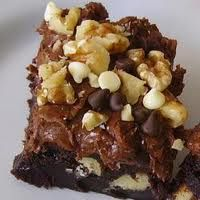 I think I must have made over 5000 of these brownies in my restaurant days. Of course I didn't do the 9X9 size, we did the full sheet size,...