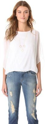 Air by alice olivia Pool Batwing Top