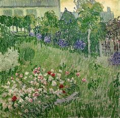 Daubigny's Garden, 1890 Vincent van Gogh