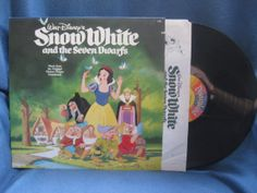 RARE Vintage Snow White And The Seven Dwarfs   by sweetleafvinyl, $14.99