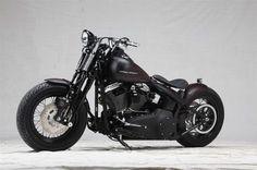 Erbacher Motorcycles Custom Harley Davidson Softail Bobber.