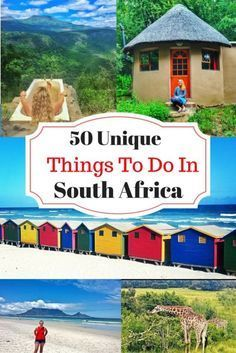 South Africa has so much adventure to offer! Try something unique on your next exploration of this incredible destination.