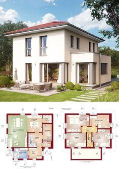 Klassische Stadtvilla Mit Walmdach Und Erker Anbau   Haus Grundriss Edition  3 V8 Bien Zenker Fertighaus