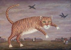 Tom-cat by Vladimir Lubarov