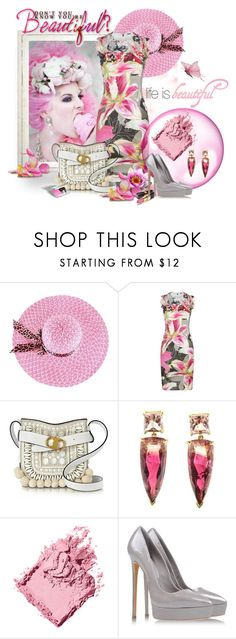 """Let Them Eat Cake!!"" by neverboring ❤ liked on Polyvore featuring Elie Tahari, Tory Burch, Bobbi Brown Cosmetics, Chanel, Casadei, food and let"
