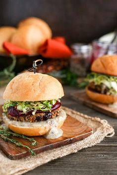 Vegan Holiday Burger - ilovevegan.com