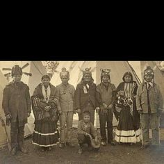 Apache- Geronimo 4th from left