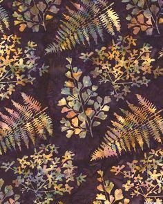 Nature Collection Batik - Dk Eggplant Purple