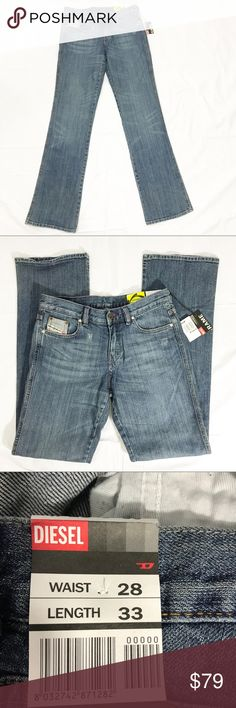 Diesel industry Rame Men's bootcut Denim Jeans. Great denim jeans for men by Diesel Industry ,  the Rame.  Waist 28 Length 33. New with tag. Diesel Jeans Bootcut