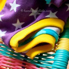 Tutorial Halsbündchen Armelbündchen Anleitung gratis kostenlos farbenmix