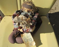 Attic Babies Doll, Flakey Jakie the Banker, by Marty Maschino