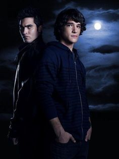 Derek Hale and Scott McCall