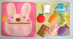 Infant Activities, Book Activities, Baby Crafts, Felt Crafts, Handmade Baby, Handmade Toys, Baby Play, Baby Toys, Flannel Board Stories