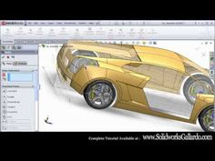 Solidworks Car Tutorial : How To Model a Car In SolidWorks - YouTube