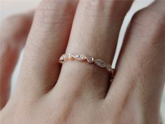 14k White/Yellow/Rose Gold Bezel Diamond Eternity by InOurStar