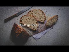 Hriešne dobrý chlieb z kvásku - YouTube Bread, Pizza, Youtube, Food, Bakken, Brot, Essen, Baking, Meals