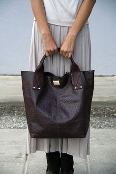 Leather bag by Diane Von Furstenberg