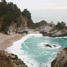 codyslr:  McWay Falls Big Sur, California by Cody William Smith instagram   flickr   prints  always big sur