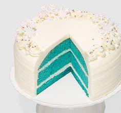 Carousel Cakes - Holiday Blue Velvet Cake