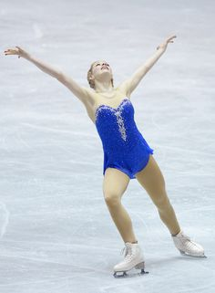 Gracie Gold Photos - Gracie Gold of USA competes in the ladies's free skating during day three of the ISU World Team Trophy at Yoyogi National Gymnasium on April 13, 2013 in Tokyo, Japan. - ISU World Team Trophy 2013 - Day 3