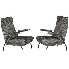 1960s Italian Pair of Armchairs | From a unique collection of antique and modern armchairs at https://www.1stdibs.com/furniture/seating/armchairs/