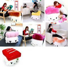 "28"" Sushi Cushion Sofa Plush Doll Cute Lovely Car Home Decor Girls&Children Gift #CottonFood"