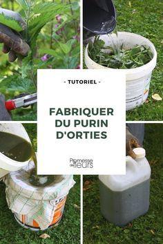 Comment faire un bon purin d'orties ? Suivez nos conseils illustrés ! #tuto #diy #potager