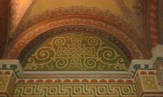 Szegedi dóm falfestmény Taj Mahal, Building, Buildings, Construction