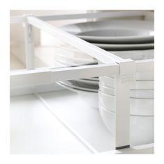 MAXIMERA Trennsteg für hohe Schublade, weiß, transparent weiß/transparent 60 cm