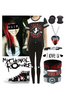 """My Chemical Romance"" by kitty-cat-kate ❤ liked on Polyvore featuring interior, interiors, interior design, home, home decor, interior decorating, Topshop, mychemicalromance, mcrx and plus size clothing"