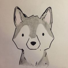 Husky drawing                                                                                                                                                                                 More