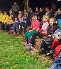 Bump in the Night    This annual family fun event encourages kids ages three to nine and their adults to celebrate fall in Frick Park with an evening of non-spooky activities that they can do together.