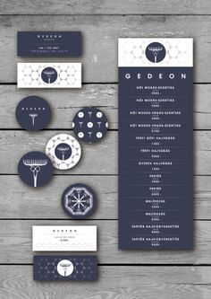 Gedeon hairdresser salon by Honosi Rita, via Behance