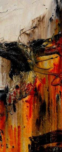 """Abstract paintings, Abstract Realism and Urban pop art """"in situ"""" displayed in spaces. Please feel free to visit my website, where you can purchase my current stock, or message me to discuss a commission (or say hello!)...... I love what I do, so please enjoy! Happy Trails Franko.......... Orange Terracota Sienna Yellow Gold abstract paintings"""