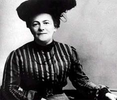 Clara Zetkin, she was a feminist and she organized the first International Women's Day.