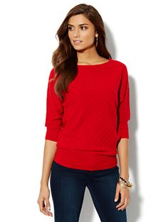 Shop Dolman-Sleeve Sweater. Find your perfect size online at the best price at New York & Company.
