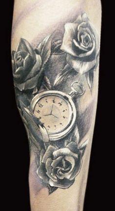 Tattoo Artist - Adam Kremer - time tattoo