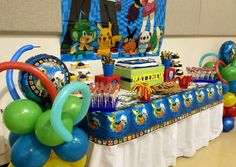 Pokemon/ Nerf War Birthday Party Ideas | Photo 4 of 26